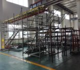impalcatura standard del sistema di Ringlock di lunghezza di 1.0m per costruzione