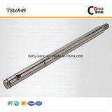 Вал CNC фабрики ISO подвергая механической обработке гальванизированный точностью стальной