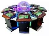 硬貨の補助機関車表の賭博の自由なオンライン出版者のカジノによって自動化されるルーレット機械