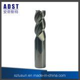 ferramenta de estaca de alumínio do moinho de extremidade de 50HRC 3flute para a máquina do CNC