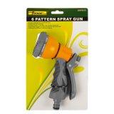 """pistola di plastica dello spruzzo d'acqua dell'ABS registrabile dei reticoli dello spruzzatore 6 del giardino di 1/2 """""""