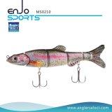 釣り人の選り抜きマルチ接合されたリアルなSwimbait 4セクション堅い釣は魅惑する塩及び淡水魚の餌の釣り道具(MS0210)を