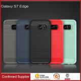 Neuer Kasten des Entwurfs-Drahtziehen-Korn-TPU für Samsung-Galaxie S7