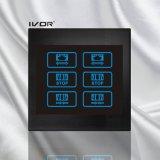 Blocco per grafici acrilico del profilo dell'interruttore della tenda dei 2 gruppi (CT100-AC2)