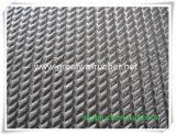 Muster-Gummimatte der Flechten-Gw3007/Gummiblatt mit EU, ISO9001, Reichweite-Bescheinigungen