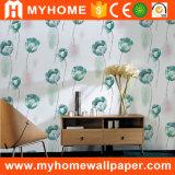 Guangzhou Precio más bajo del vinilo del PVC del papel de empapelar la decoración del hogar