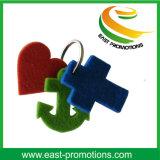 Corrente chave sentida da promoção cor feita sob encomenda