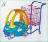 Вагонетка игрушки малышей, автоматическая тележка вагонетки покупкы (JT-E18)