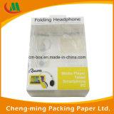 Kundenspezifischer Papppapier-Verpackungs-Kasten mit Belüftung-Fenster für Kopfhörer