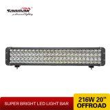 216W 강력한 빛 3는 저희를 크리 사람 LED 표시등 막대 젓는다