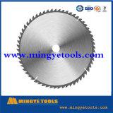 La circular vio la lámina para ferroso/el metal