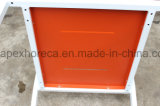 다채로운 알루미늄 의자 옥외 가구 팔 의자를 입히는 분말