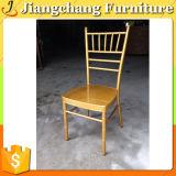 Cadeira barata de Chiavari do metal do ouro para o casamento