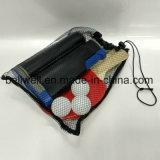 Le ping-pong portatif Playset avec le réseau, palettes, billes, et portent le sac