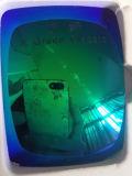 Las lentes coloridas polarizaron la lente del Tac (la obra clásica verde de R)