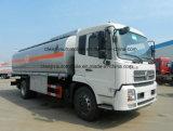 Dongfeng 4*2 280HP 연료 분배기 트럭 16000L 연료 탱크 트럭