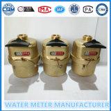 PA66 Nylon Material de Clase CR = 160 Vane rueda Medidor volumétrico de agua