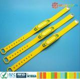 Bracelet de Braceclet Icode Sli de gymnastique de silicones d'IDENTIFICATION RF d'utilisation de répétition de Rewearable