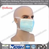 Wegwerfchirurgische Gesichtsmaske des vliesstoff-3ply