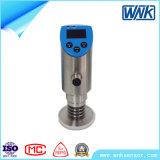 スイッチ、OLEDの表示Modbusコミュニケーションの機能の同じ高さのダイヤフラムの圧力変換器