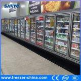 - Grad 18 bis -22 vertikale Multideck Glastür-Gefriermaschine für Tiefkühlkost