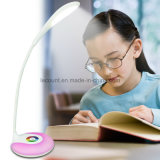 Lámpara de escritorio flexible recargable del LED con 256 colores vivos cambiables (LTB715A)