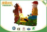 Máquina de juego del cabrito del funcionamiento de la moneda del coche eléctrico del juguete del cabrito para la venta