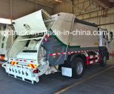caminhão especial, caminhão de lixo comprimido, FAW 8-10 toneladas de caminhão da recusa