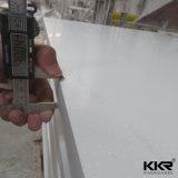 Feuille extérieure solide blanche en pierre acrylique de constructeur de la Chine