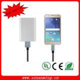 Cable de datos de carga dual universal al por mayor del USB del cable del USB