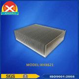 Kundenspezifischer Aluminiumstrangpresßling mit blauer Beschichtung
