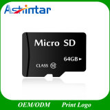 8GB tarjeta micro de alta velocidad del TF de la tarjeta del SD de la memoria de la clase 10