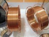Alambre de soldadura de Er70s-6 MIG en carretes del plástico 15kg de 0.9 y de 1.2m m