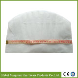 Chapéu não tecido descartável do cozinheiro chefe com altura média