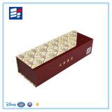 Caixa de empacotamento feita sob encomenda do vinho da alta qualidade com papel extravagante luxuoso