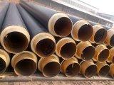 De Engelse Pijp van het Staal van de Pijp van Pijp 253 Standaard Rechte Preinsulated Thermische Glasvezel Geïsoleerdeh voor Gekoeld Water