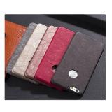 Caso de cuero suave de la cubierta del teléfono móvil para iPhone7 7plus