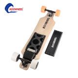 Patín eléctrico de cuatro ruedas/Longboard del motor dual popular del eje