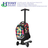 Planche à roulettes avec le scooter 2016 se pliant de scooter électrique de Htomt de sac de course