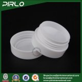 vaso di plastica bianco di 3G mini pp con vaso crema di plastica del contenitore di cura personale del coperchio il piccolo pp dell'occhio della crema del vaso crema cosmetico