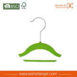 Цветастые верхние вешалки одежд бархата для оптовой продажи