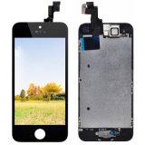para o conjunto do digitador da visualização óptica de toque do iPhone 5s 5c LCD + a recolocação do quadro