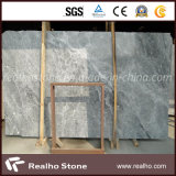 Laje de mármore cinzenta do vison de prata barato de China do preço para telhas de assoalho do projeto