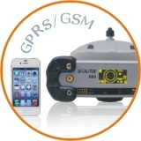 South S86t Intergrated Rtk Gnss Surveying system with LCD display on The receiver