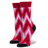 Die Retro gefärbten Socken-Funktionseigenschaft-Art-Socken kopierten klare Socken