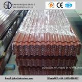 Bobina d'acciaio preverniciata/tetto ondulato galvanizzato metallo ricoperto colore PPGL/di PPGI di Gi