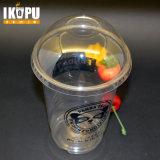 24oz 700ml 애완 동물 뚜껑을%s 가진 샐러드 과일을%s 큰 플라스틱 컵
