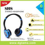 Écouteur stéréo pliable de Bluetooth de Neuf-Seule mode avec le CSR-Jeu de puces pour le portable/téléphone