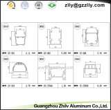 Protuberancia de aluminio/opinión seccionada transversalmente de los perfiles para la luz del LED