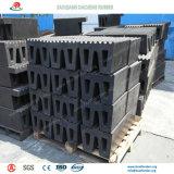 Am meisten benutzte quadratische Schutzvorrichtung-Marinegummischutzvorrichtungen auf Dock und Kai